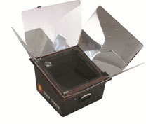 Solar cooking - use the suns energy for free with a sun oven