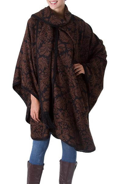 Womens ethically made Ponchos - Handcrafted by Novica artisans