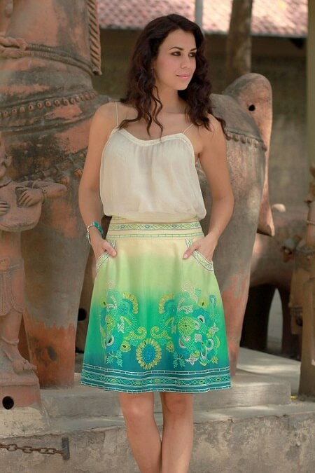 Womens ethically made Skirts - Handcrafted by Novica artisans